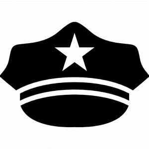 Hat of a policeman Icons | Free Download