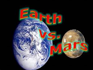 Planet Facts: Earth Vs. Mars - YouTube