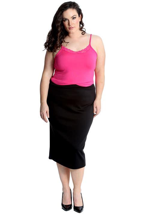 New Ladies Plus Size Vest Womens Camisole Lace Neck Tank ...