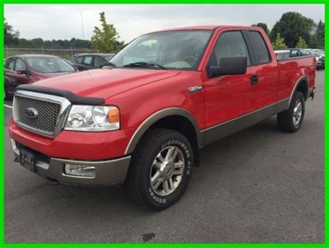 05 Ford F150 by Used 05 Ford F150 Lariat 5 4l V8 Automatic 4x4 Work