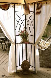 Outdoor curtain panels inspiration homesfeed for Outdoor balcony curtains