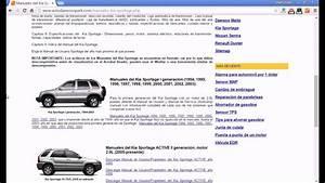 Manuales Kia Sportage