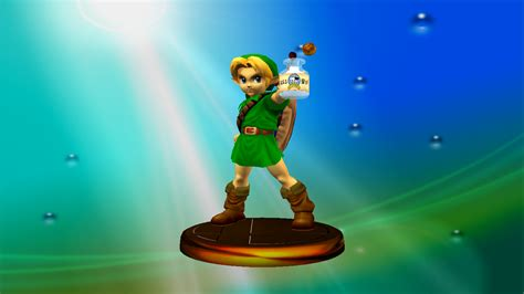 Image Young Link Adventure Trophy Super Smash Bros