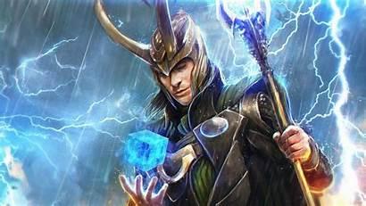 Desktop Fantasy Loki Wallpapers Artwork Windows Sorcerer