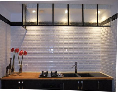 Backsplash Tile For Kitchen Ideas - carrelage métro verni recherche google cuisine pinterest office interiors wall colors