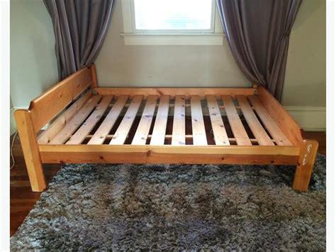 pine bed frame queen size victoria city victoria