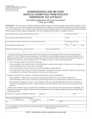 colorado dmv non resident form 2011 2018 form co dr 2667 fill online printable fillable
