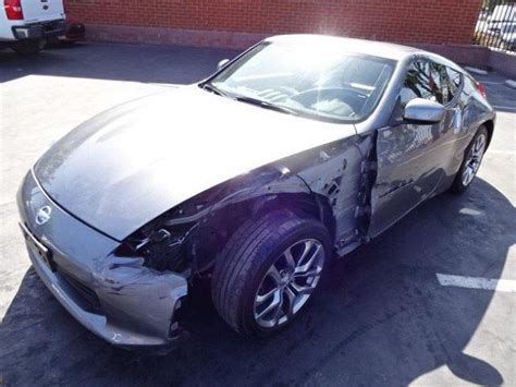nissan  coupe touring salvage wrecked  sale