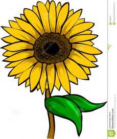 Sunflower Cartoon Clip Art