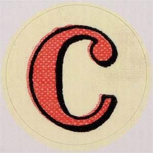 Vintage sticker letter c flickr photo sharing for Letter c stickers