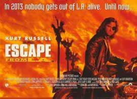 Escape from L.A. Movie Posters From Movie Poster Shop