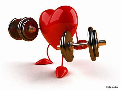 Clip Healthy Living Exercises Heart Exercise Clipart