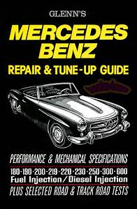 Shop Manual Mercedes Service Repair Guide Book Glenn Ie