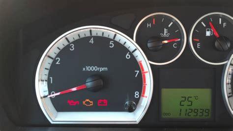 chevrolet aveo check engine warning light