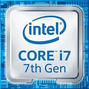 Intel Quad Core Chart Intel Core I7 7500u 7th Gen Laptop Cpu Laptop Processors