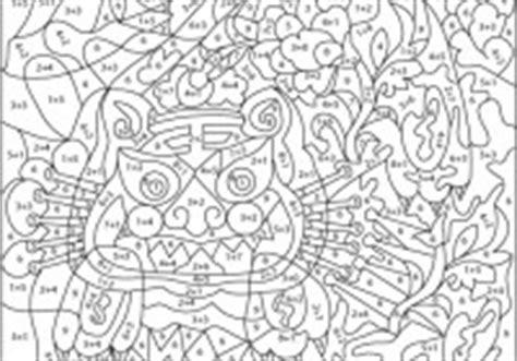disegni numerati da colorare cose  crescere