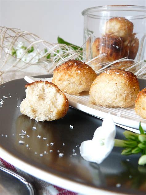 cuisine sans gluten rochers coco très moelleux