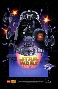 Poster Star Wars : star wars movie posters get the lego treatment the escapist ~ Melissatoandfro.com Idées de Décoration