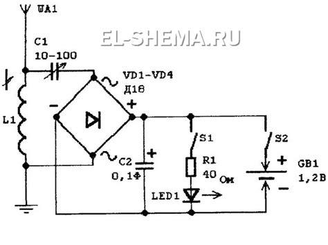 Светлый угол светодиоды • Питание светодиодов от энергии поля