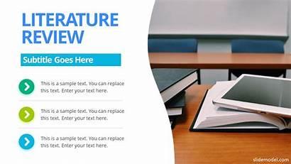 Ppt Research Paper Templates Presentation Literature Template
