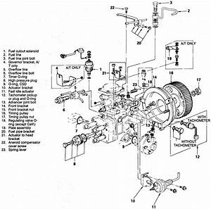 Motor Isuzu Diesel Schematic Fuel Injectors Where Are The