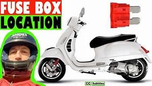 Vespa Gt200 Fuse Box Location