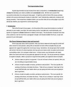 narrative argument essay topics