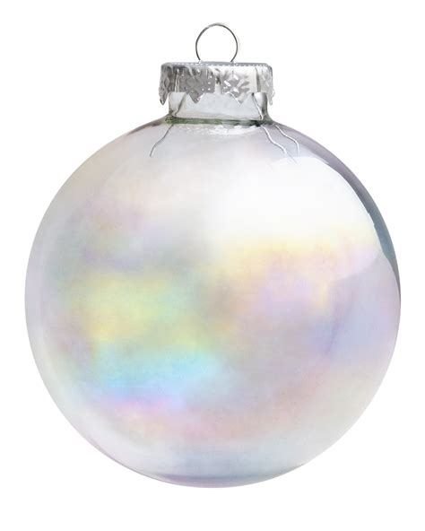 first frost iridescent christmas ornament set treetopia