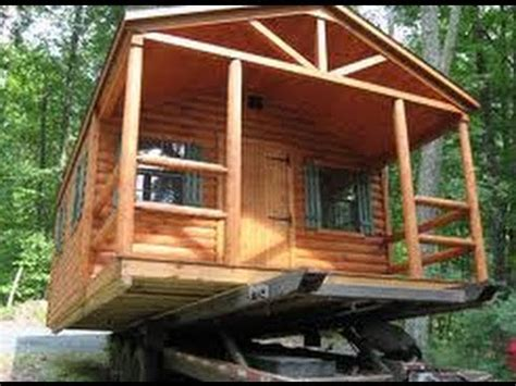 pre built hunting cabins add    property youtube