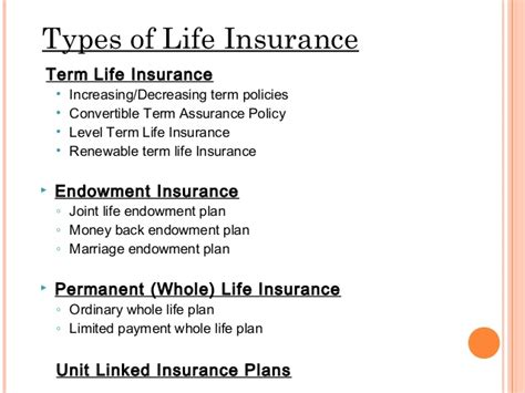 Life Insurence Ppt