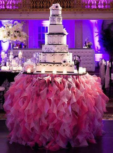 custom made ruched table cloth ruffles for wedding party