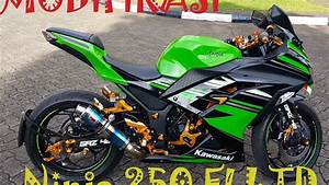 Modifikasi Ninja 250 Fi Ltd 2016  3