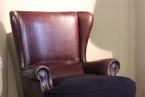 Comfortable 1930s Italian Leather Armchair