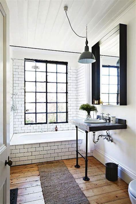 rustic small bathroom ideas  wooden decor  trendehouse