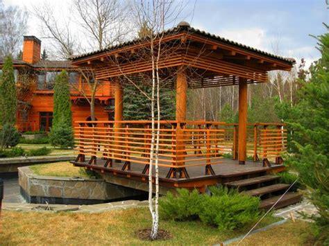 Backyard Structure Ideas by 22 Beautiful Wooden Garden Designs To Personalize Backyard