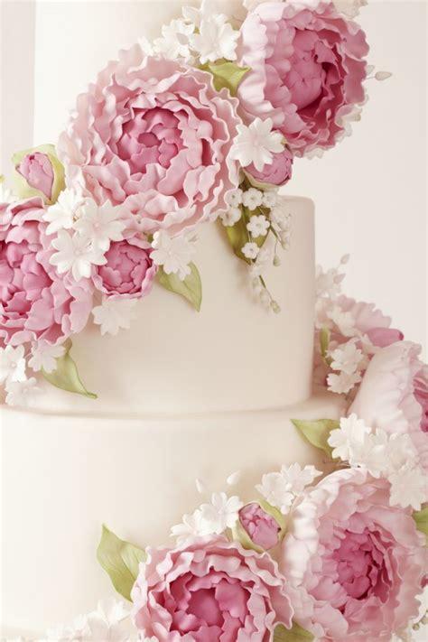 peggy porschenfloral wedding cake collection fondant