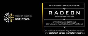 Radeon Instinct Hopes To Compete With Nvidia For Machine