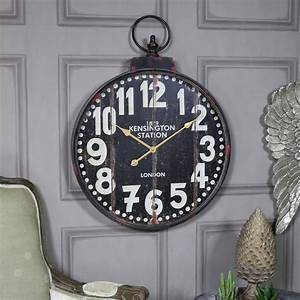 Extra, Large, Vintage, Style, Wall, Clock