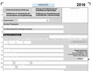 Steuererklärung Berechnen 2016 : einkommenssteuer 2016 mit allen anlagen pdf vorlagen download chip ~ Themetempest.com Abrechnung
