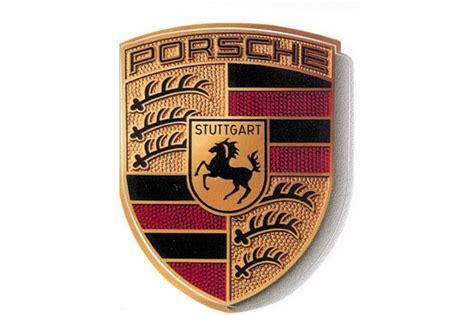 Teilecom  Porsche Wappen Aufkleber, Größe 54,5 X 66,7 Mm