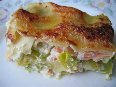 cuisiner des artichauts recette de lasagnes saumon et poireaux la recette facile