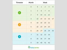 How pregnant am I? Pregnancy by weeks, months, and
