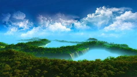 3d Scenery Wallpaper by 3d Landscape Wallpapers Mobile Wallpapers