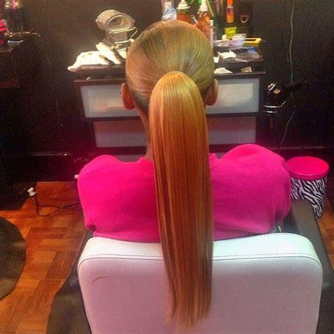 life  ponytail  slayedddd
