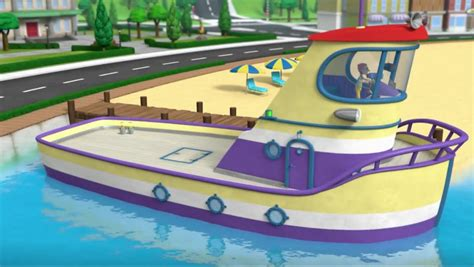 Paw Patrol Boat Game by Image Paw Patrol Lost Tooth Scene 28 The Flounder Boat