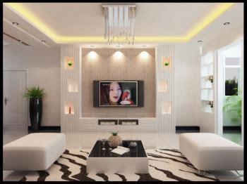 white minimalist tv backdrop  model  model