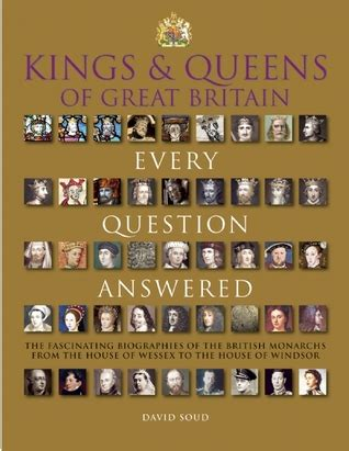 kings queens  great britain  question answered