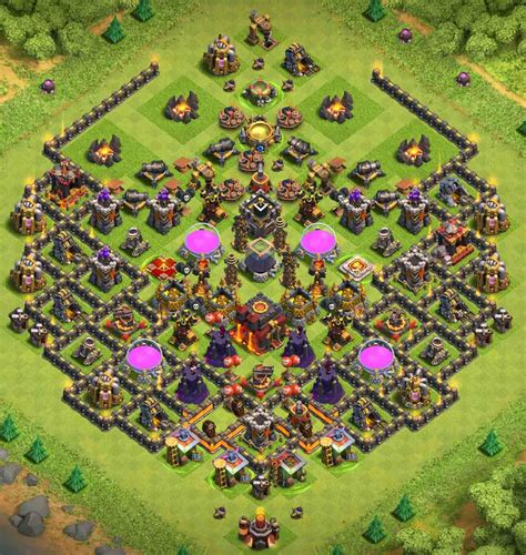 Top 16+ Best Th10 Farming Base 2018 (new! Update)  2 Bomb