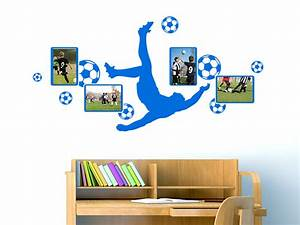Fussball Deko Kinderzimmer : wandtattoo fotorahmen fu ball wandtattoo de ~ Michelbontemps.com Haus und Dekorationen
