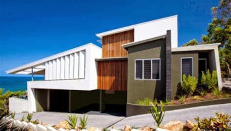 model atap rumah minimalis miring satu arah gambar